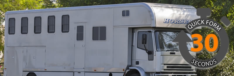 Getting the best deal on Horsebox Insurance