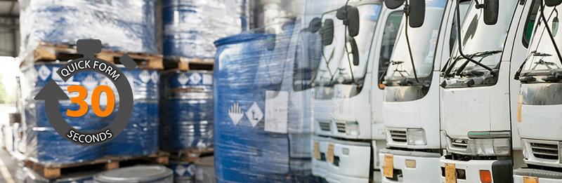 Hazardous Goods Fleet Insurance Quotes