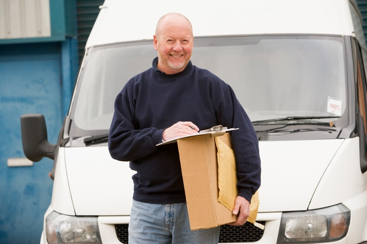 Example of a courier who would need courier insurance