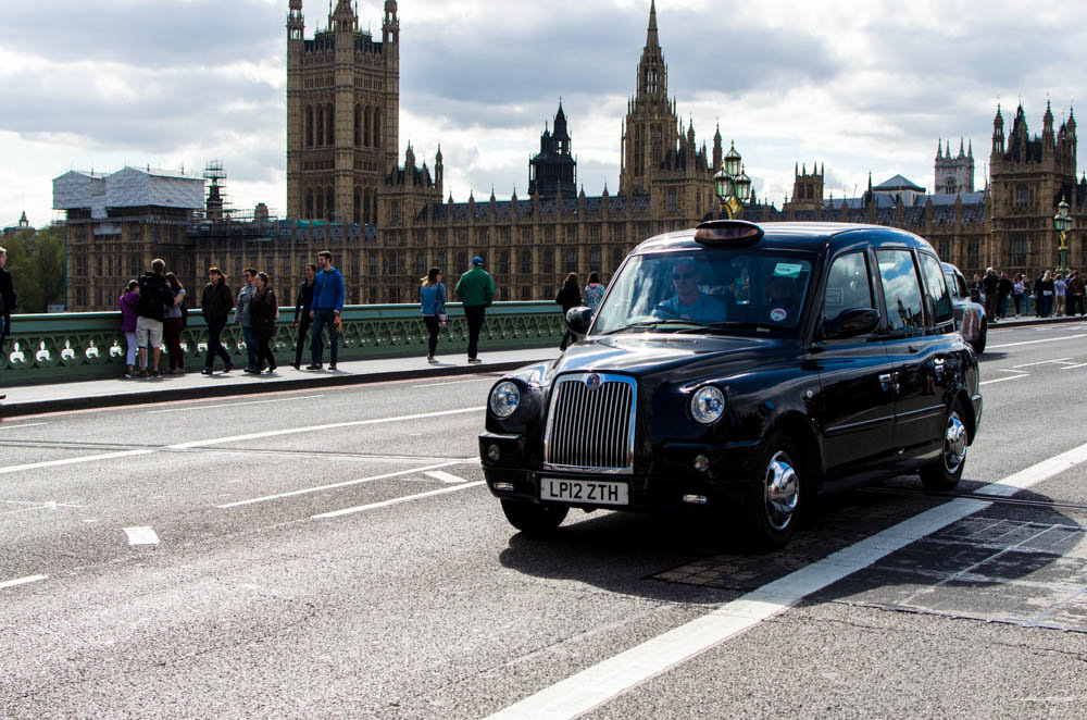 New London Taxi Emission Rules Now in Force
